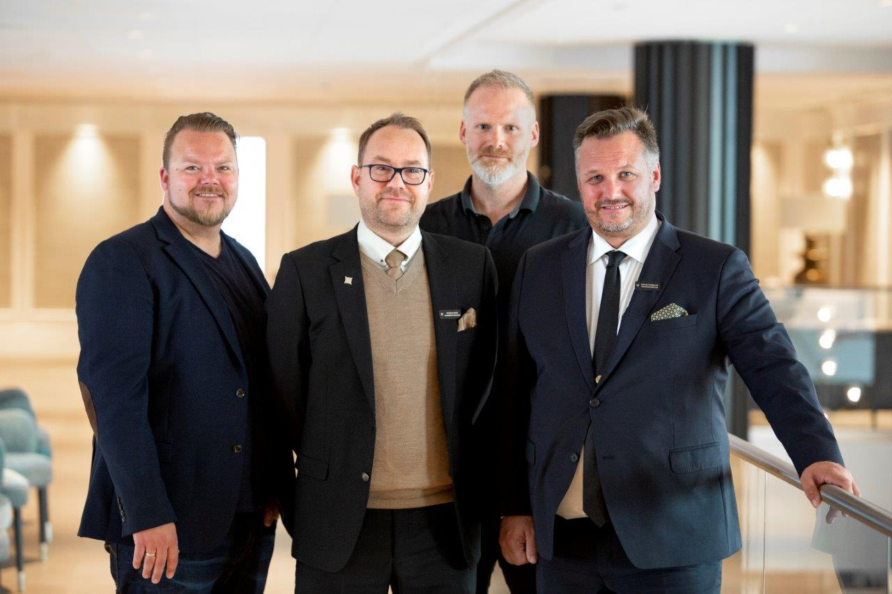 Tommy Karlsen, Kinly, Thomas Berg, Britannia Hotell, Øyvind Lystad i Kinly, Mikeael Forselius, Britannia Hotell