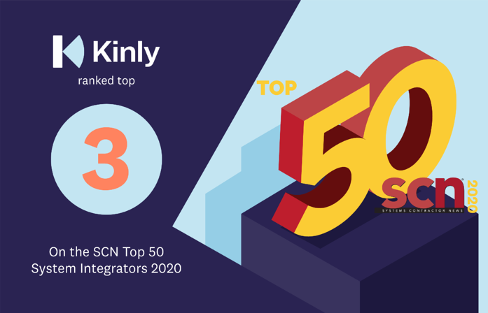 Kinly ranked at number 3 on SCN top 50