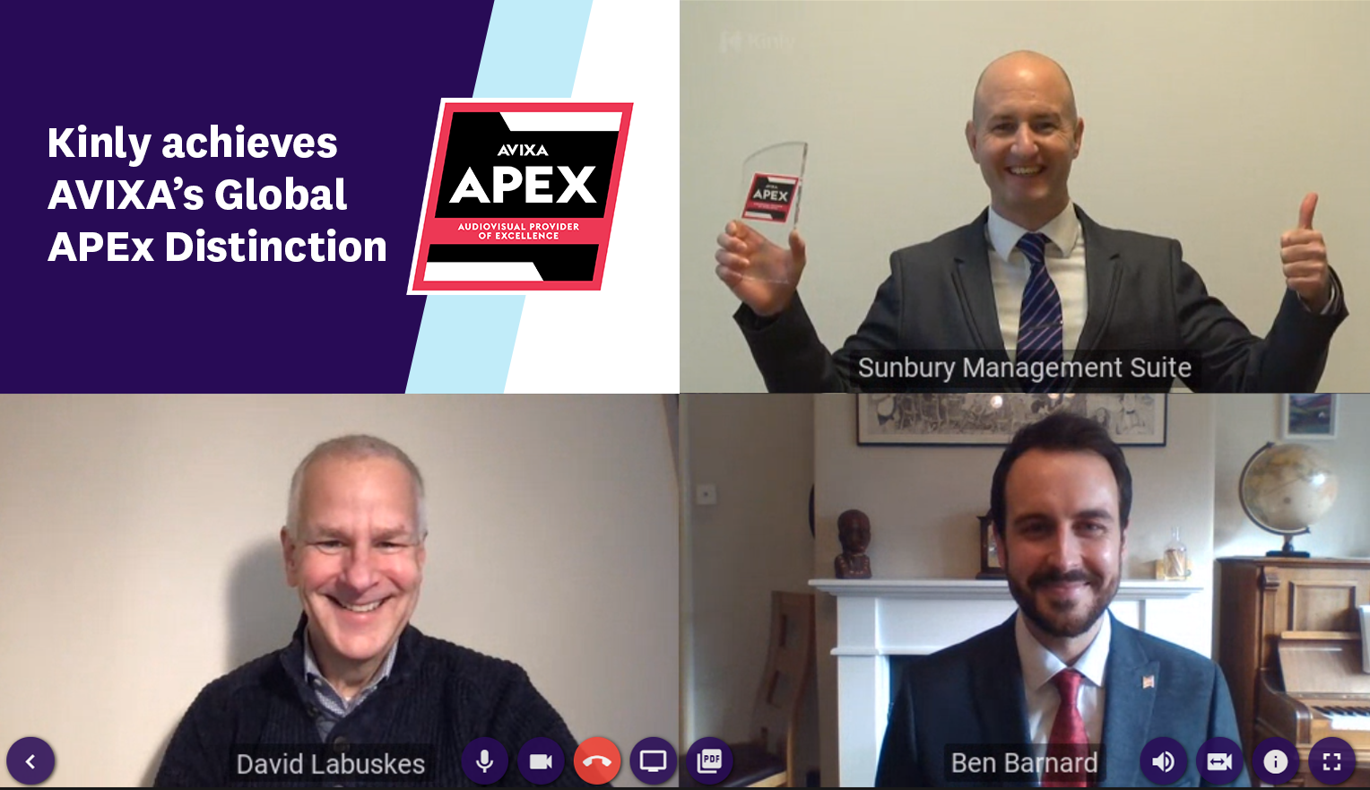 Kinly achieves Global APEx Distinction_Final