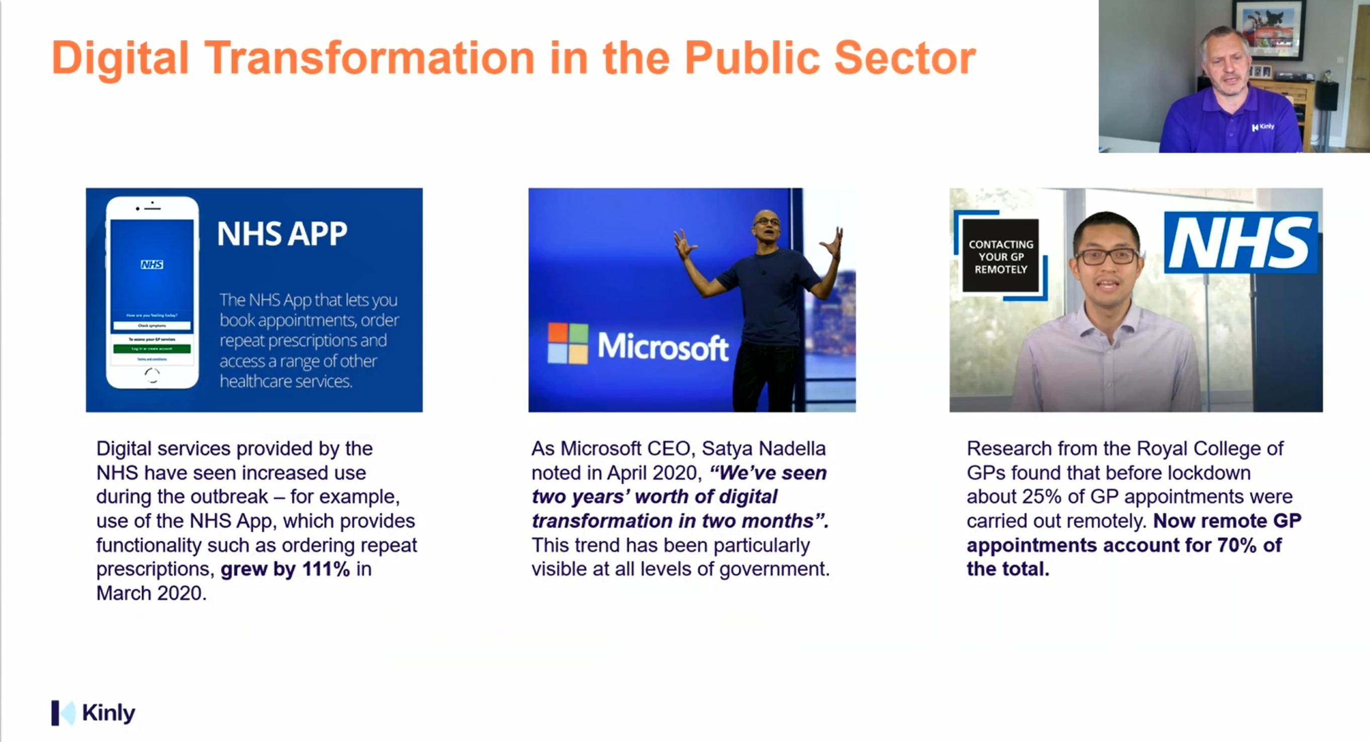 public sector webinar screenshot