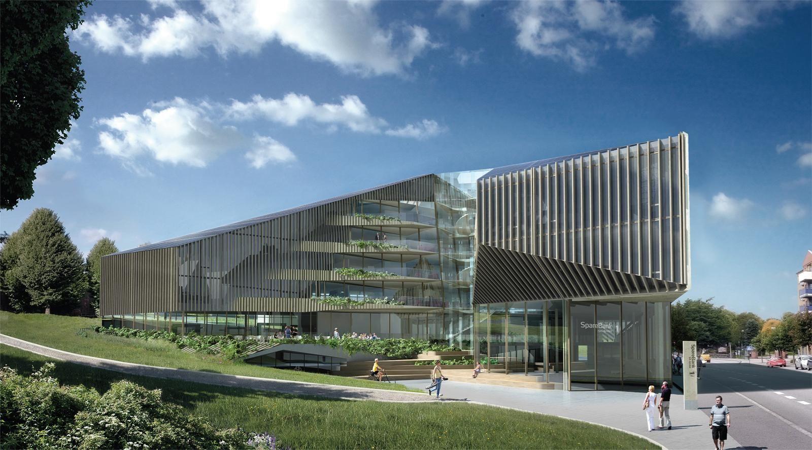 Kinly valgt som leverandør til Sparebank 1 SR-Banks nye hovedkontor