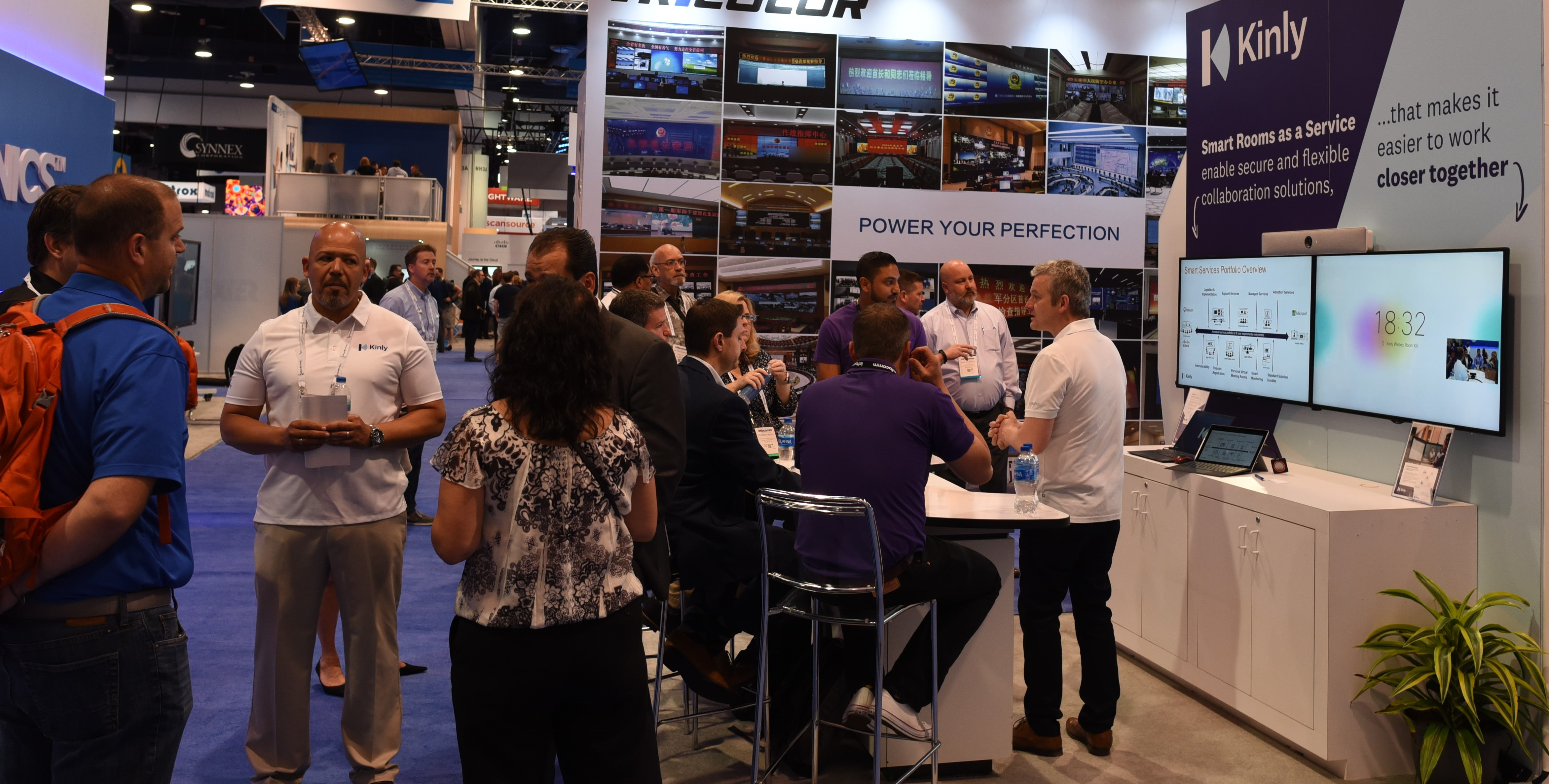 Kinly demos Smart Solutions at InfoComm 18