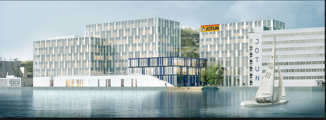 Kinly blir AV-leverandør til Jotuns nybygg på Gimle i Sandefjord