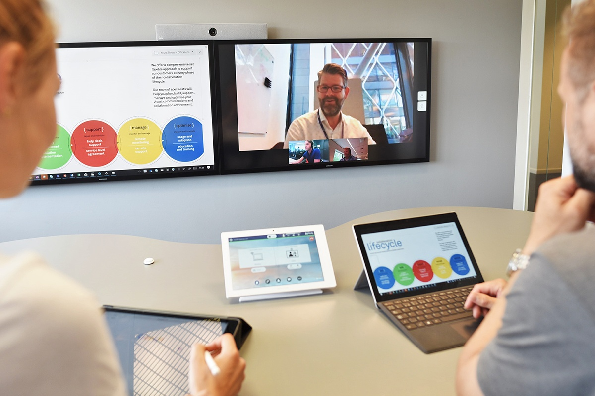 Kinly Cloud now connects with Google Hangouts Meet