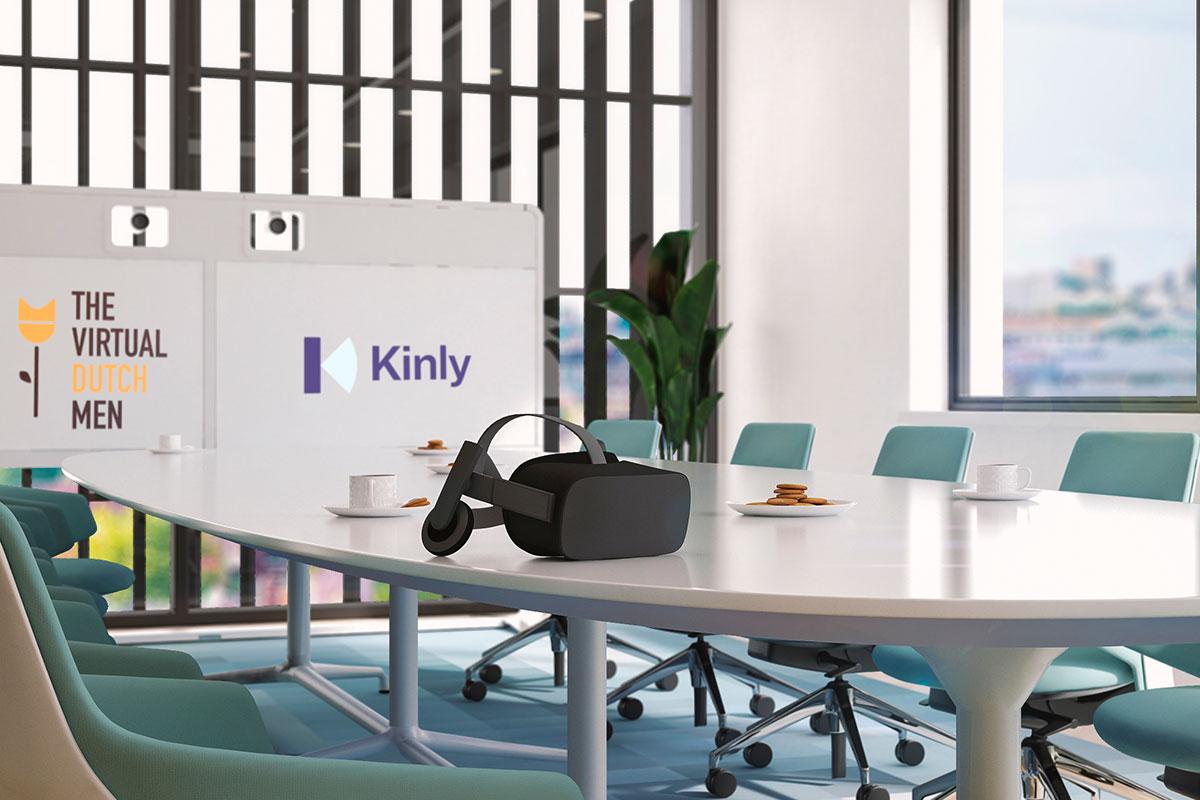 Kinly geeft met videoconferencing in VR een kijkje in de toekomst tijdens ISE 2019