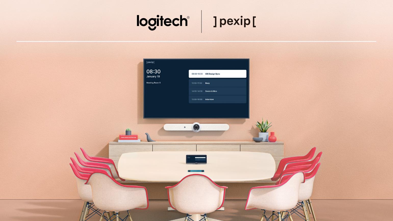 Få et komplett møterom med Logitech og Pexip