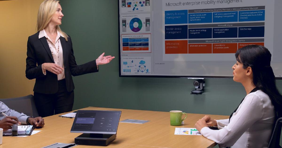Skype Room Systems gaat verder als Microsoft Teams Rooms