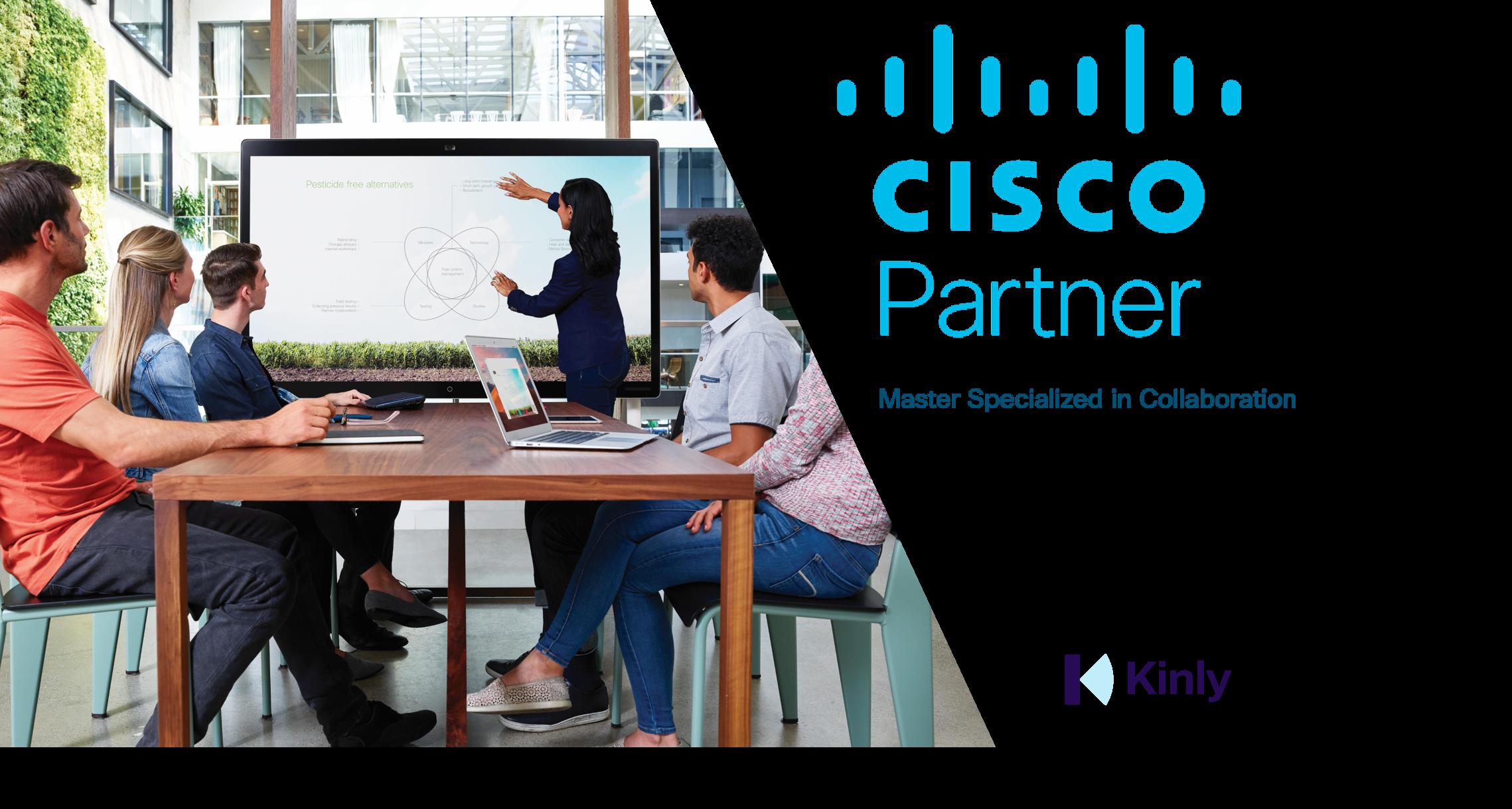 Kinly er første partner i Norge med Ciscos toppsertifisering