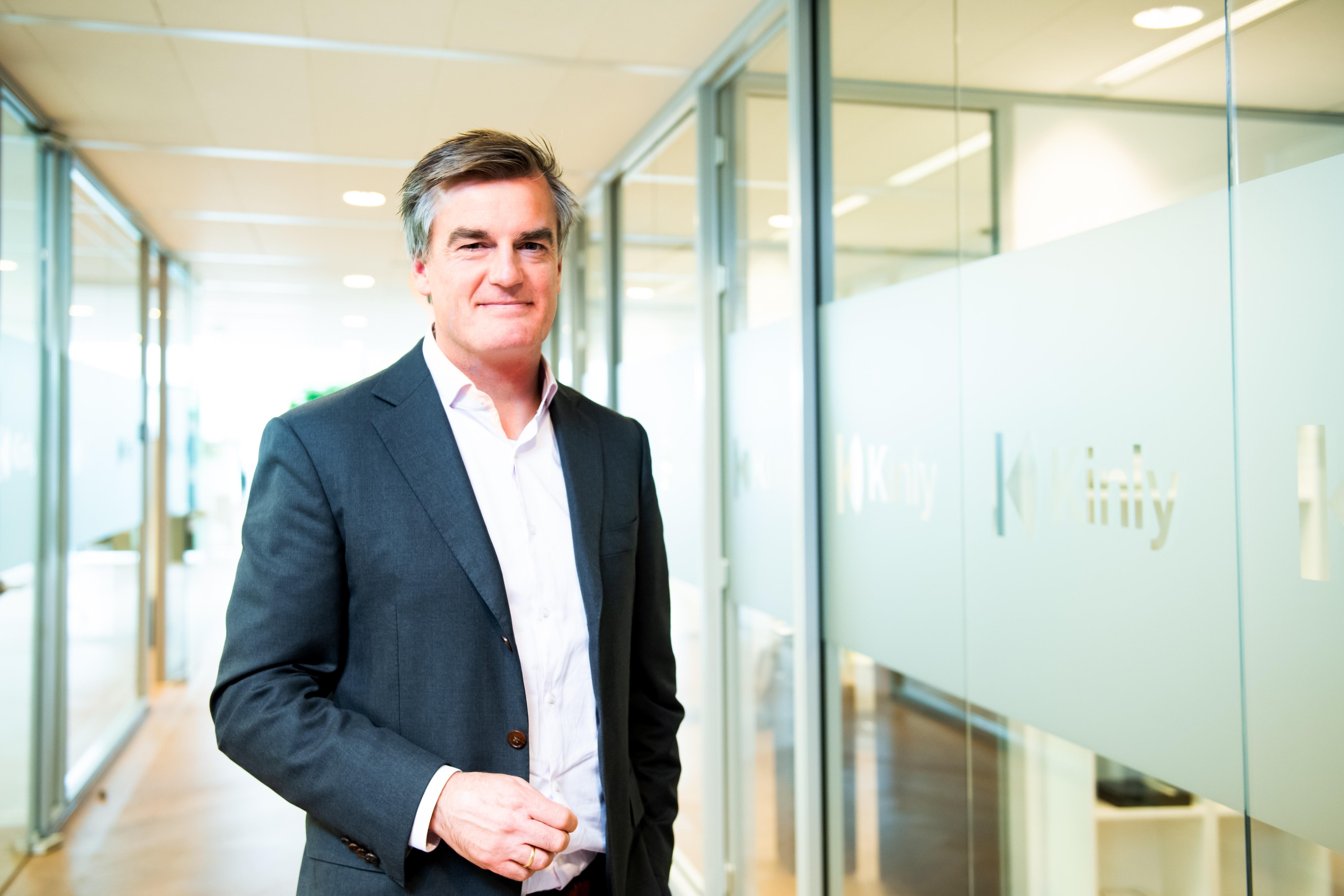 Kinly stelt Robbert Bakker aan als nieuwe CEO