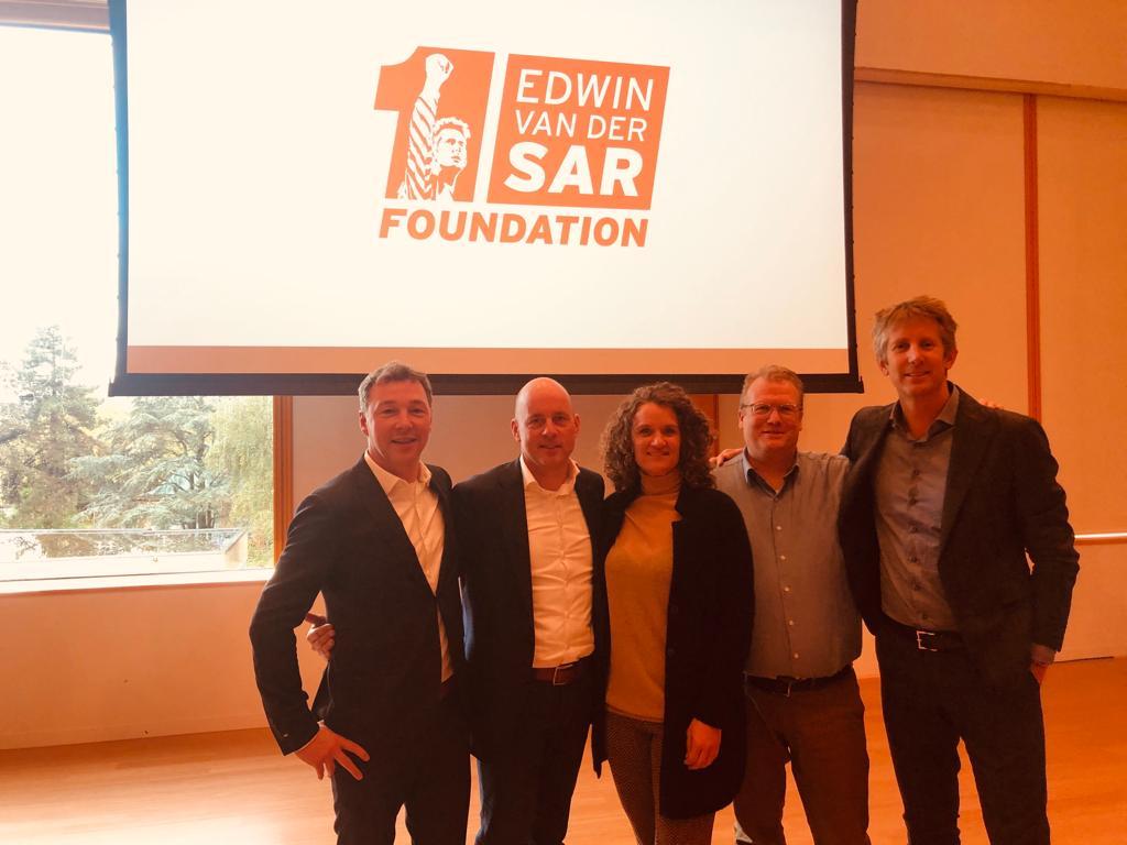 Kinly maakt online coachgesprekken mogelijk voor de 'Edwin van der Sar Foundation'