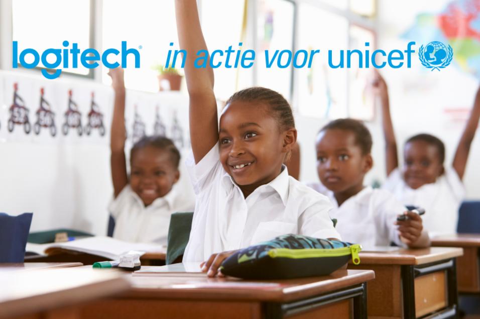 Logitech in actie voor UNICEF